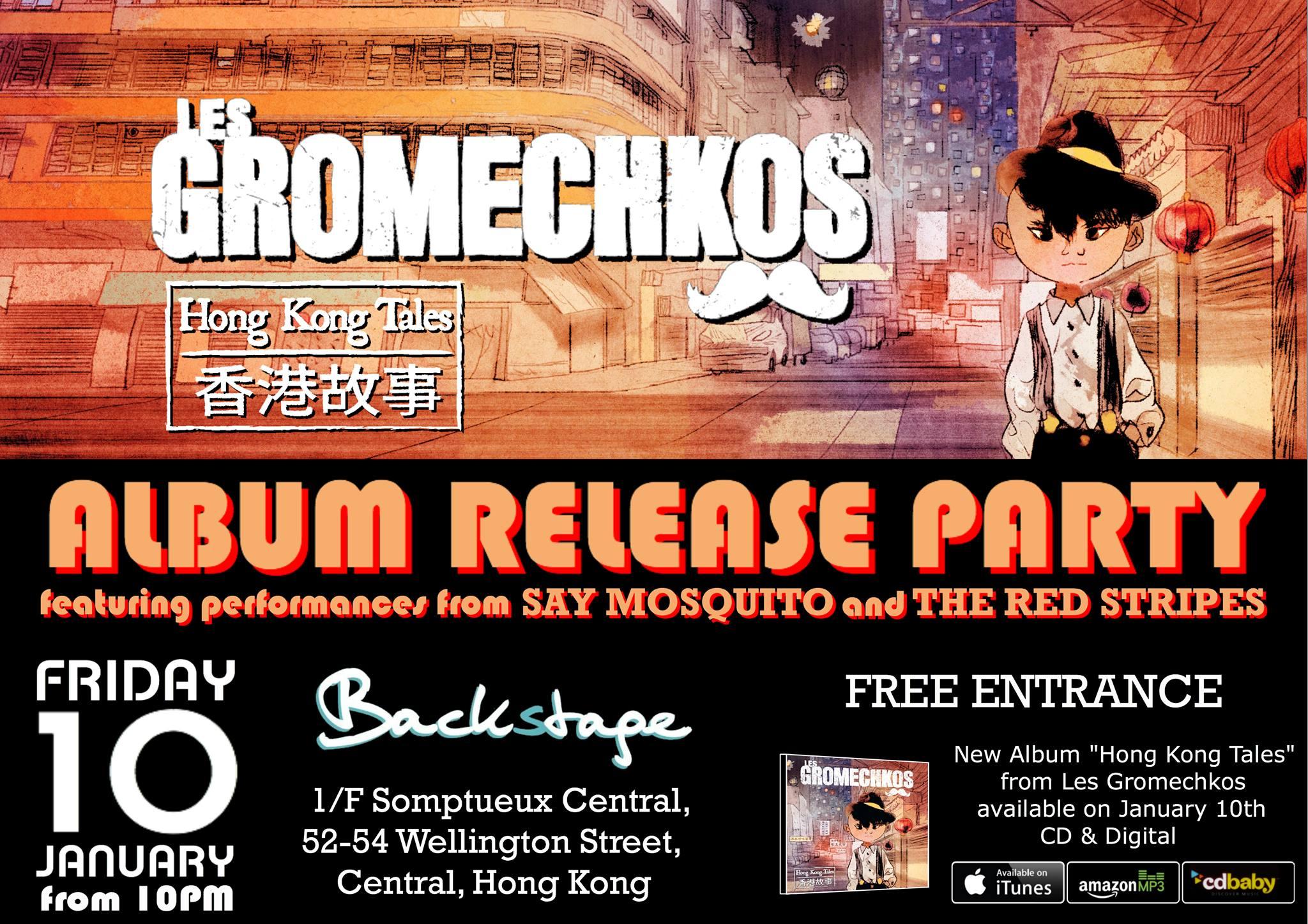 Les Gromechkos Album Release Party