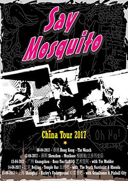 2017 China Tour Poster