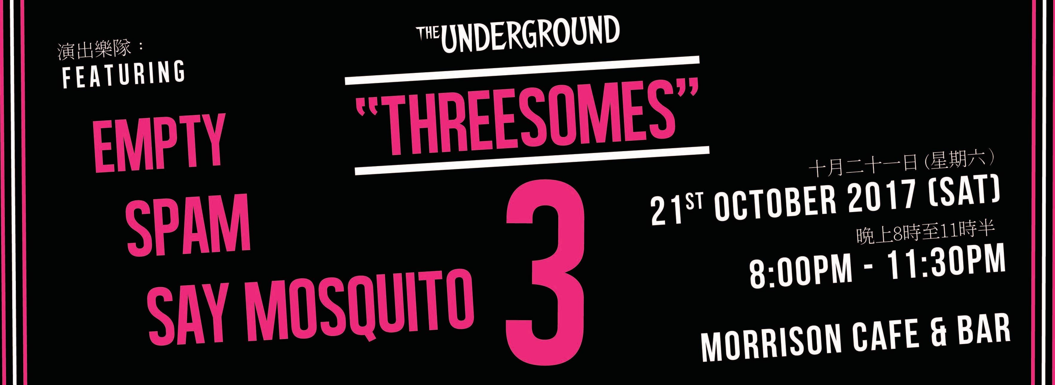 Underground Threesomes