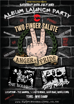 Two Finger Salute Album Release