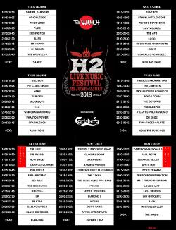 H2 Festival 2018